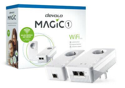 Devolo Magic 1 Wifi Kit de Iniciación Powerline Mesh 2x Ethernet Lan...