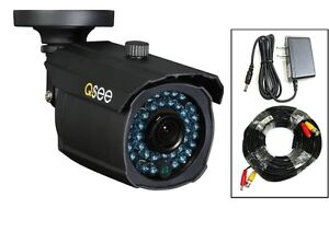QM9901B Q-See Surveillance Security CCTV Camera w 900 TVL 100 ft Night Vision