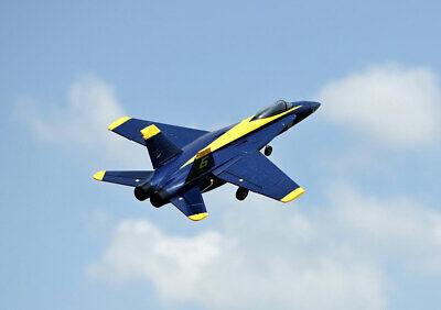 RC Flugzeug Jet F18 Jet Blue Angel 656mm PNP 64mm EDF