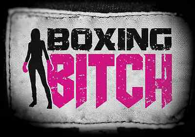 Boxing Bitch Female Fight Wear