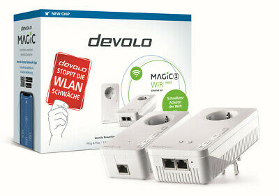 Devolo Magic 2 Wifi Next Kit de Iniciación Powerline 2400Mbit/S Punto Acceso