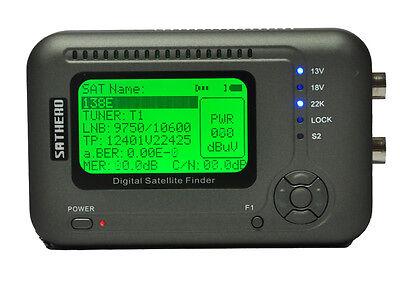 SATHERO SH-200HD DVB-S2 MPEG-4 Digital Satellite Signal Meter Finder BER MER C/N