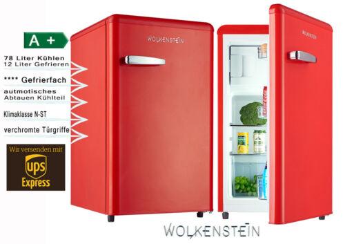 Retro Kühlschrank Rot : Wolkenstein kühlschrank test vergleich wolkenstein kühlschrank