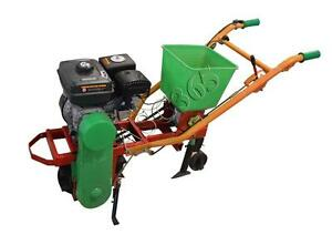 Seeder Soil Spreader Gas Powered Planter Plant Care Crop Assembly Required 211041