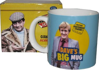 Only Fools and Horses Official Dave's Giant Big MUG - Gift Boxed
