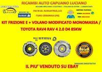 KIT FRIZIONE VOLANO MODIFICATO TOYOTA RAV 4 II 2.0 D-4D 4WD 85KW 116CV