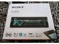 SONY MEX-N6001BD DAB BLUETOOTH CD PLAYER HEADUNIT AS NEW!