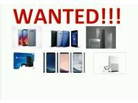 WANTED IPHONE 7 7 PLUS SAMSUNG GALAXY S8 S8 PLUS 6S 6S PLUS SE IPHONE 6 5S IPAD PRO MACBOOK PRO PS4