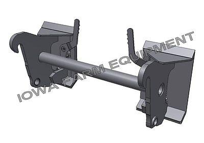 Wheel Loader Quick Attach to Skidsteer Q/A:Case,Cat,Deere,Gehl,JCB,Kubota,Terex