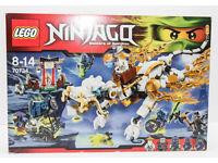BNIB Lego Ninjago 70734 Master Wu Dragon.