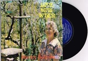 SHIRLEY-HOLMAN-LOVE-WAS-WHEN-RARE-7-45-EP-VINYL-RECORD-w-PICT-SLV-1975