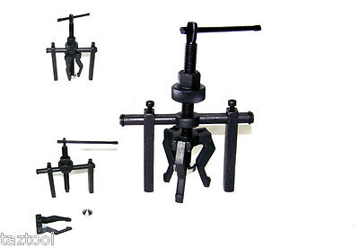 3 JAW PILOT BEARING PULLER AUTO  MOTORCYCLE  BUSHING REMOVER EXTRACTOR TOOLS -
