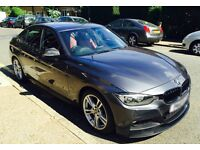 BMW F30 M Sport 320D 2012 Auto M Mineral Grey / Coral Red Interior Performance Carbon Visual Pack