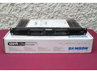 Samson Servo 120A Stereo Power Amplifier - Unused as New in Original Box with Manual - Bargain!