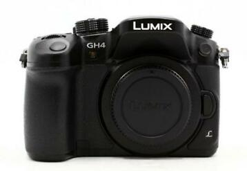 Panasonic Lumix DMC-GH4R body zwart occasion
