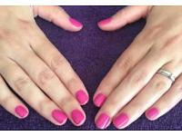 Gelish-shellac-waxing-tinting-lash enhancements-threading-defined brows