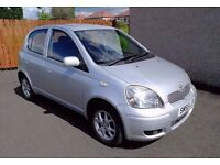 Toyota Yaris 1.4 D-4D T Spirit,Sunroof, Diesel, 1 Year MOT , TAX £30