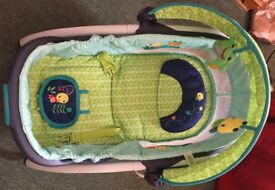 Bright Starts Delight N Dream Baby Rocker, Baby Bouncer Like New