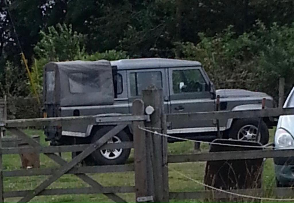 Land Rover 110 double cab pickup