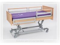 Bakare electric adjustable specialised bed with medi-pro mattress