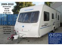 2009-2010 BAILEY RANGER GT60 - 540/6 - ONE OWNER - LIGHT 6 BERTH - TRIPLE BUNK - CRIS REG' - AWNING