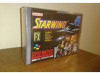 Starwing Super Nintendo Very Rare Nintendo Strip Sealed Snes Game - Collectors