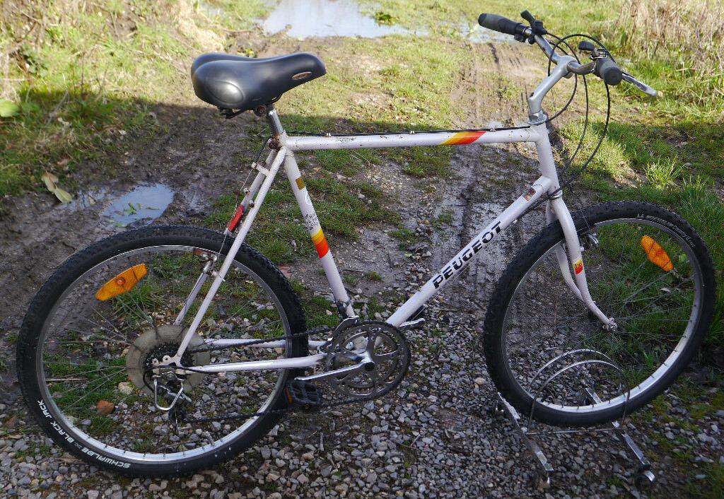 Vintage Peugeot Ranger Mountain Bike Xl 23 5 Quot Frame 10