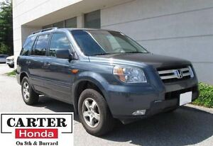 2006 Honda Pilot EX-L + LEATHER + LOCAL + 8 SEATS!