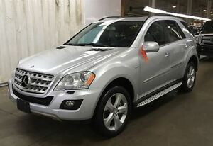 2010 Mercedes-Benz M-Class ML350-BLUETEC-NAVIGATION-RUNNING BOAR