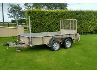 Ifor Williams trailer 10x5 new brakes/tyres