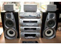 Technics SC-DV280 Hi Fi 5 Speaker Surround Sound System