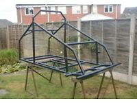 Two seater off road buggy frame/project unfinished.