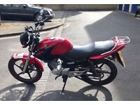 Yamaha ybr125 2012 £1150