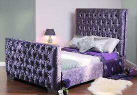 Stunning crushed velvet beds