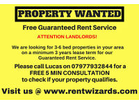Property Wanted for Minimum 3 Years - South East London