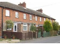 3 bedroomed mid terraced house in village location with good sized garden