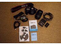 Canon EOS 7D + 18-135mm lens
