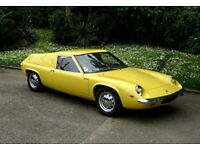 LOTUS EUROPA WANTED ** TOP PRICES PAID **