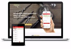 IPHONE ANDROID MOBILE APPS FOR BEAUTY SALON SPA MASSAGE PARLOURS NAIL STUDIO APP DEVELOPER DESIGNER