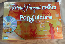 Trivial Pursuit Pop Culture Music & Movies DVD game