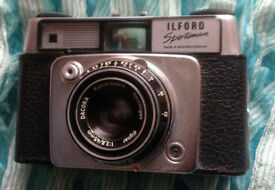 Vintage Ilford Sportsman 1960 - Case fine but strap broken