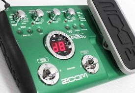 Zoom acoustic modeling pedal