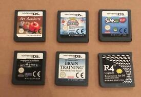 Nintendo DS games bundle. Carts only