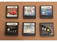 Nintendo DS games bundle. Carts only