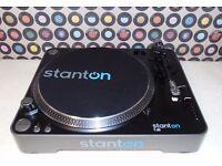 STANTON T52 Manual Belt-Drive Turntable.