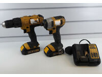 DeWalt DCF885 & DeWalt DCD776 Drill/Driver Set w/ Batteries