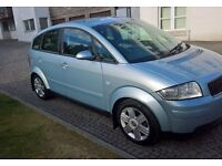 ***DIESEL*** AUDI A2 1.4 TDCI (12 MONTHS MOT MAY 2018) SERVICE HISTORY **ONLY £30 ROAD TAX A YEAR**