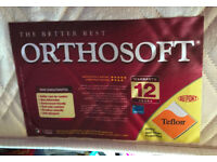 King size mattress: Orthosoft original 5ft wide x 6ft 6in long x 6in deep. Grantham, Lincs.