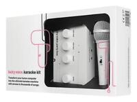 Lucky Voice karaoke kit + extra microphone