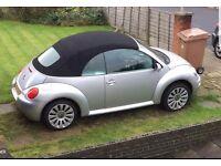 VW Beetle 2005 convertible 1.6